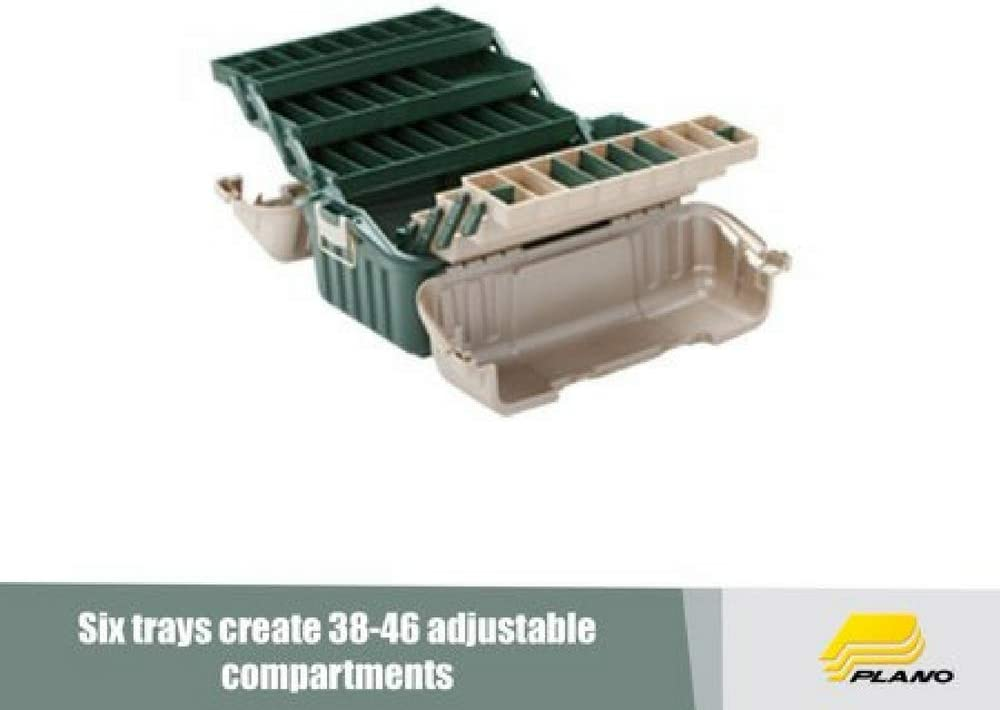 Plano/_ Hip Roof Box 6-Tray Green//Sand 861600