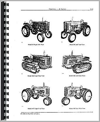 John Deere mi tractor partes Manual
