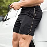EVERWORTH Men's Gym Workout Boxing Shorts Running
