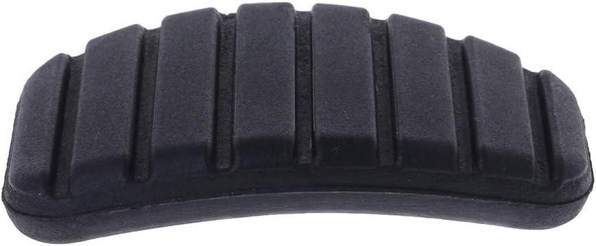 Coludor Funda de goma para pedal de freno y embrague color negro