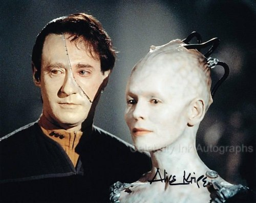 ALICE KRIGE as The Borg Queen - Star Trek First Contact Genuine Autograph from Celebrity Ink
