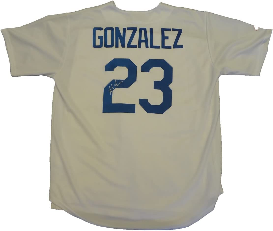 B00FTBOE4I Adrian Gonzalez Autographed Los Angeles Dodgers White Jersey W/PROOF, Picture of Adrian Signing For Us, Los Angeles Dodgers, Boston Red Sox, San Diego Padres, All Star 51uMw3lrW2L.SL1167_