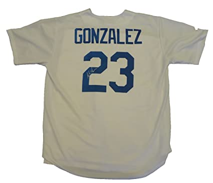 brand new f0829 ebe2a Adrian Gonzalez Autographed Los Angeles Dodgers White Jersey ...