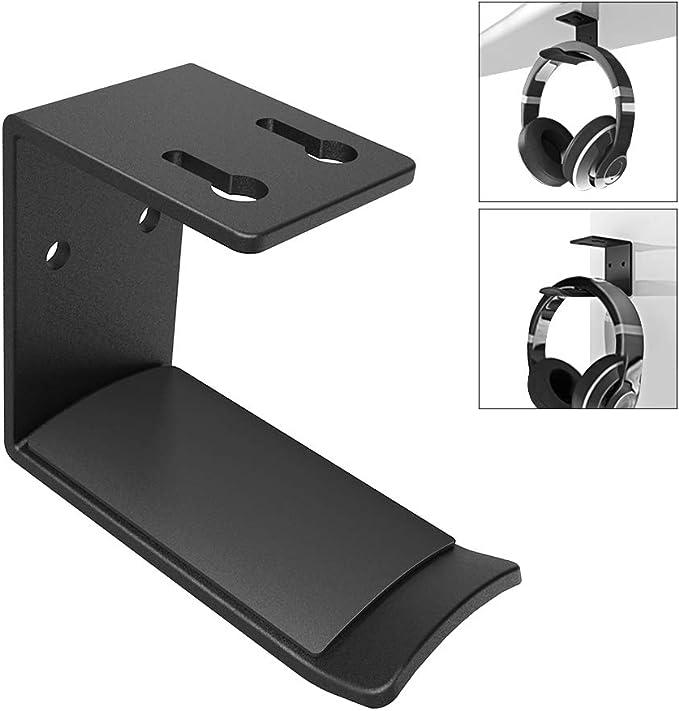 Universal Earphone Headset Hanger Holder Headphone Desk Display Stand MA