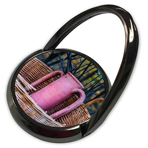 3dRose Alexis Photography - Objects Amphora - Image of an Ancient Amphora Vessel in a Wicker Basket - Phone Ring (phr_292859_1)