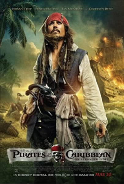 B-241 Map Of Pirates Of The Caribbean Classic Movie 18 24x36 27x40 Fabric Poster