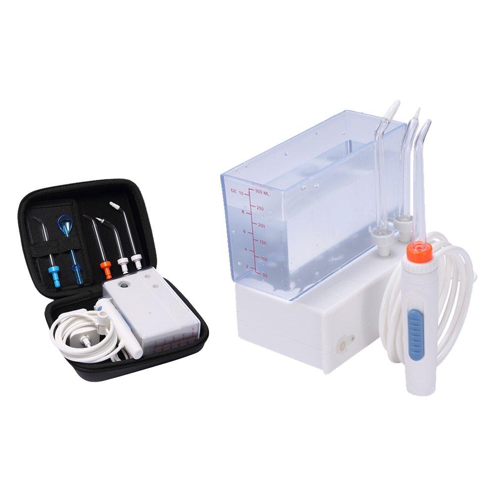 Hofloss® Recargable WaterJet Irrigador Dental Portátil e IPX Impermeable para Limpieza Viaje