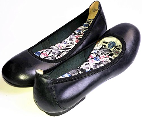 Cosycost Newly Women Ballet Flats with Comfort Footbed lesure Working Shoes Slip on Oxfords Pure Leather - 1/2' Platform Shoe
