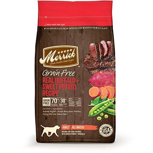 4-Pound, Rich in Omega 6, Omega 3 Glucosamine & Chondroitin Buffalo Dry Dog Food