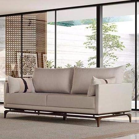 Memomad sofá alforge con Detalles de Piel: Amazon.es ...