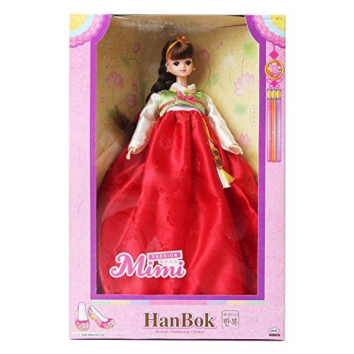 MIMIWORLD Fashion mimi Hanbok / Doll/ Children/ Toy/ Korean Traditional Clothing
