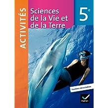 Sciences de la vie et de la terre 5ème fichier d'activité