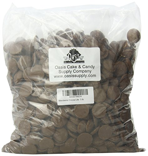 Merckens Coco Lite Milk Chocolate Flavored Coating, 5 lbs (Best Chocolate To Use For Strawberries)