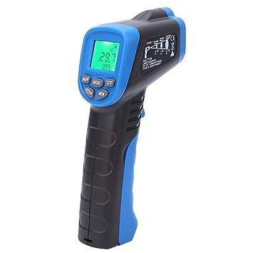 Term/ómetro infrarrojo sin contacto port/átil de mano Term/ómetro de alta precisi/ón Herramienta de medidor de temperatura industrial