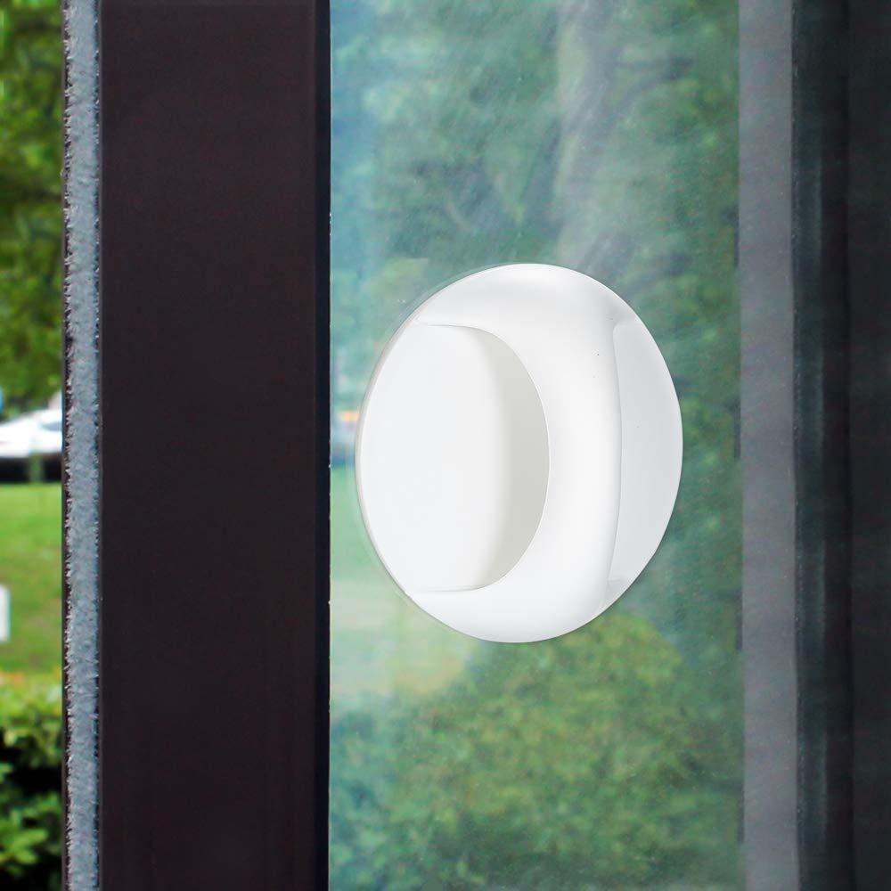 Godyluck T/ür-Zusatzgriff Selbstklebender Instant-Schrank-Schubladengriff Fenster-Zusatzgriff Kleiner Griff f/ür Schrankt/ür