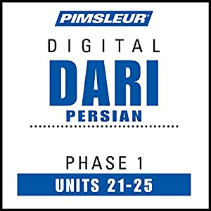 Dari Persian Phase 1, Unit 21-25 Audiobook