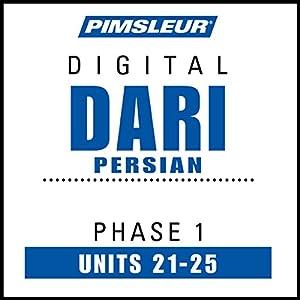 Dari Persian Phase 1, Unit 21-25 Hörbuch