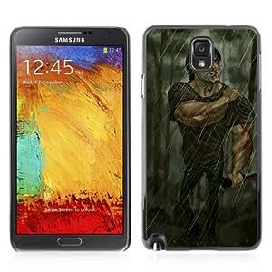 YOYOSHOP [Funny Stallone Rambo Illustration] Samsung Galaxy Note 3 Case by lolosakes