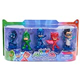 "Bring the adventures of PJ Masks home with the PJ Masks Collectible Figure Pack! Each character is detailed to look just like your favorite PJ Masks characters and stands at 3"" tall. This deluxe pack of PJ Masks 3"" figures features Catboy, Owlette, G..."