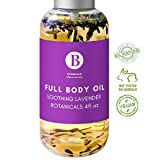 All Natural Fractionated Coconut Oil, Sweet Almond Oil, Argan Oil, Jojoba Oil, Lavender Essential Oil, Organic Lavender. Daily moisturizer for Face, Skin, Hair, Nail, Foot Beard. Pure Body Oil 4floz