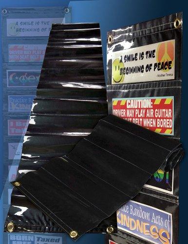 Hanging Bumper Sticker Display (Sticker Display Rack compare prices)