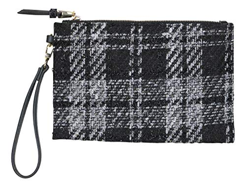 INC International Concepts Moly Boucle Fabric Wristlet Clutch Purse