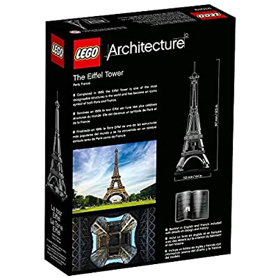 LEGO Architecture 21019 The Eiffel Tower: Home & Kitchen