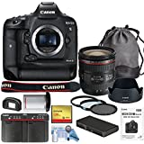 Canon EOS-1DX Mark II DSLR Camera w/Canon EF 24-70mm f/4L IS USM Lens Bundle