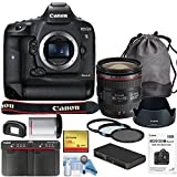 Canon EOS-1DX Mark II DSLR Camera w/Canon EF 24-70mm f/4L IS USM...