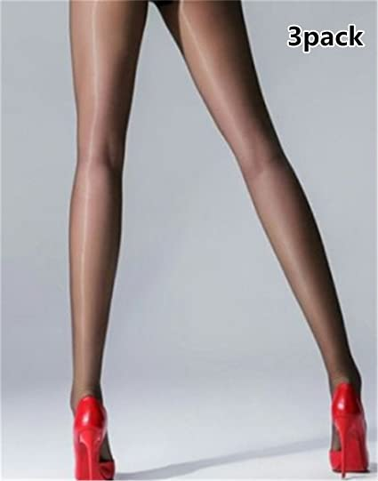 ad45bd0e702 Interesting 15D Shiny Silk Pantyhose Glitter Stockings Womens Glossy Thin  Tights  Amazon.ca  Home   Kitchen