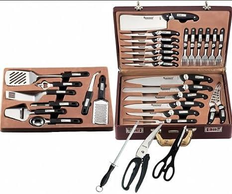 Malette De Couteaux 32 Pcs Schumann Professionnel Amazon Fr Cuisine Maison