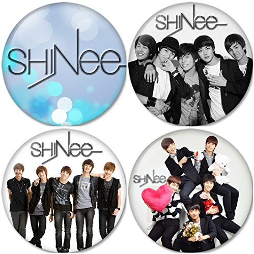 SHINEE SET 1 Buttons Badges/Pin 1.25 Inch (32mm)
