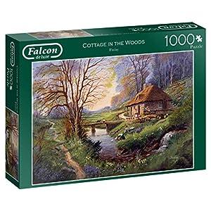 Falcon De Luxe 11243 Cottage In The Woods Puzzle Da 1000 Pezzi