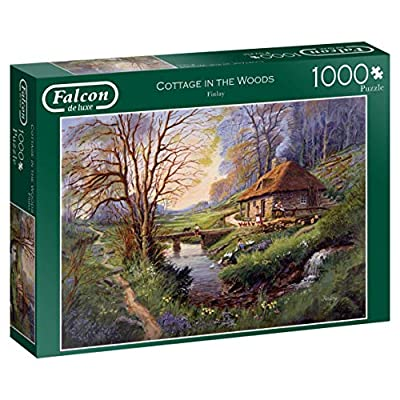Falcon De Luxe 11243 Cottage In The Woods Puzzle Da 1000 Pezzi