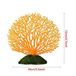Artificial-Coral-Ornament-Strip-Coral-Plant-Ornament-Glowing-Effect-Silicone-Artificial-Decoration-for-Fish-Tank-Aquarium-LandscapeOrange