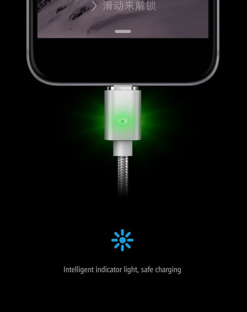 Amazon.com: elough E04 Cargador magnético cable micro USB ...
