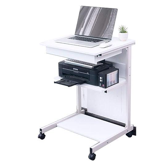 Xyanzi mesas Plegables Mesa Móvil Computadora de Escritorio con El ...