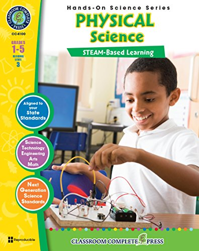 Hands-On STEAM - Physical Science Gr. 1-5 - Classroom Complete Press