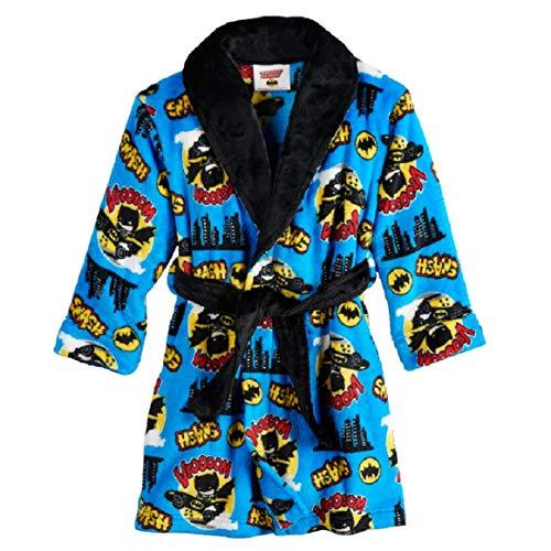 DC Comics Batman Plush Robe Toddler Boys (4T) ()