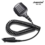 JUENTAI H64-M5 Two Way Radio Speaker Microphone Waterproof Handheld Transceiver Speaker Microphone for Motorola GP328 GP338 GP340 GP380 PRO5150 HT750 HT1250 PR860 MTX9250 MTX8250 etc