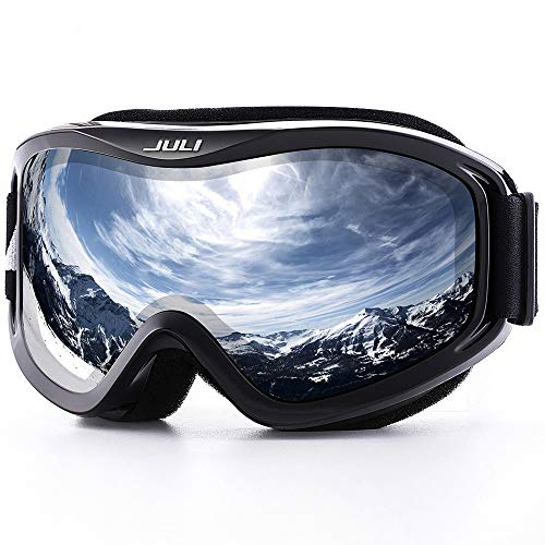 Skiing Eyewear Sports & Entertainment Provided Winter Snowboard Ski Goggles For Kids Dual Lens Anti Fog Windproof Mask Colorful Plated Large Frame Skiing Glasses Children Elegant In Smell