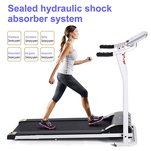 Mini Folding Electric Treadmill Running Training...