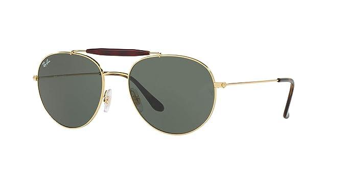 Amazon.com: Ray-Ban RB3539 Erika Round Metal Sunglasses ...