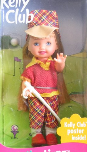 Barbie Kelly GOLFER LIANA Doll w Golf Club & MORE! for sale  Delivered anywhere in USA