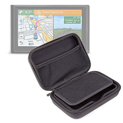 DURAGADGET Exclusive 5-inch Hard Shell EVA Case in Matte Black for the NEW Garmin Drive 50 / 50LM / 50LMT Satnavs by DURAGADGET