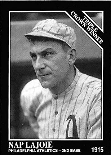 Nap Lajoie Baseball Card Philadelphia Athletics Hall Of