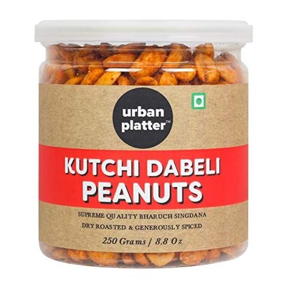 Urban Platter (Bharuch Singdana, Dry Roasted & Generously Spiced) Kutchi Dabeli Peanuts - 250G