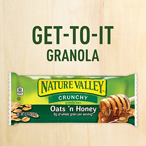 Large Product Image of Nature Valley Granola Bars, Crunchy, Oats 'n Honey, 17.88 Ounce