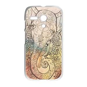 O-K-O-U8073557 Phone Back Case Customized Art Print Design Hard Shell Protection Motorola G