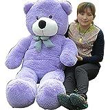 Glantop(TM) Giant Huge Cute Bear Toy Doll Gift with Soft Plush Stuffed 60cm